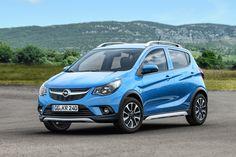 Koele Karl: Opel voorziet Karl van SUV-Looks en noemt 'm Rocks