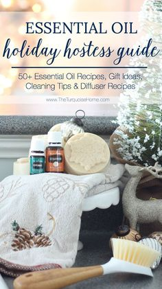 The Essential Oil Holiday Hostess Guide! Recipes, Gifts Ideas, Cleaning Tips and Diffuser Recipes! Are Essential Oils Safe, Essential Oil Set, Young Living Essential Oils, Diffuser Recipes, Beauty Recipe, Food Gifts, Holiday Recipes, Essentials, Homemade