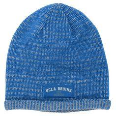 UCLA Bruins adidas Heathered Skully Knit Beanie - Light Blue