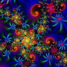 Starflowers fractal