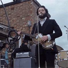 "Orgasmic things in the Beatles mcsomehow: "" Paul Mccartney with a beard. Paul Mccartney Beard, Lennon And Mccartney, Beatles Photos, Beatles Songs, Happy Birthday Paul, Guitar Guy, Guitar Tips, The Quarrymen, Sir Paul"