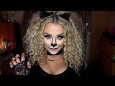 Cat Halloween Make Up Tutorial <br> Cat Costume Makeup, Cat Halloween Makeup, Up Halloween, Diy Halloween Costumes, Halloween Tutorial, Costume Ideas, Halloween Costumes Cat Woman, Diy Cat Costume, Cat Girl Costume