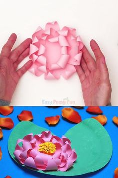 Hand Crafts For Kids, Toddler Art Projects, Diy Crafts For Home Decor, Diy Crafts To Sell, Recycled Paper Crafts, Easy Paper Crafts, Paper Plate Crafts, Frog Crafts, Preschool Crafts