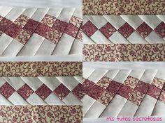 Aprende a realizar la técnica seminole de patchwork, paso a paso te enseñamos el tutorial completo con fotografías y explicaciones.