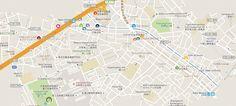 Kamekura: What Makes Ikejiri Ohashi the Best Area to Live in Tokyo? Map of Shibuya area and key to best restaurants Tokyo Map, Beautiful Park, Live In The Now, Restaurants, Good Things, Key, How To Make, Unique Key, Keys