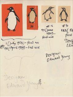Penguin logo sketches