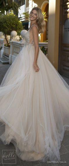 Dimitrius Dalia Wedding Dresses 2017 - Tel Aviv Collection #weddingdresses#weddinggowns#bridaldress#bride#bridal#bridalgown#brides#weddings