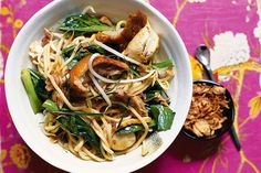 Hawker-style stir-fried noodles