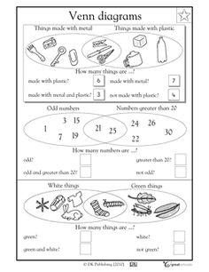 venn diagram for kids math