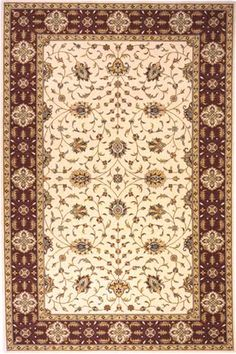 Persian Garden 08 Ivory Rug By Momeni Area Rugs
