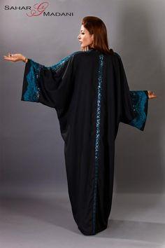 Sahar Madani luxury designer abaya haute couture