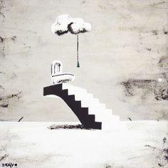 'Water-closet' von Iván Bravo bei artflakes.com als Poster oder Kunstdruck $17.33