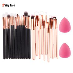 $4.46 (Buy here: https://alitems.com/g/1e8d114494ebda23ff8b16525dc3e8/?i=5&ulp=https%3A%2F%2Fwww.aliexpress.com%2Fitem%2F12Pcs-Makeup-Brush-Set-Foundation-Brush-Eyeshadow-Eyeliner-Brushes-Sponge-Puff-Gift-Pinceis-Make-Up-Tools%2F32716122916.html ) 12Pcs Eye Makeup Brushes Set Eyeshadow Eyeliner Powder Foundation Mascara Blending Pencil Brush with Sponge Puff Cosmetics Tool  for just $4.46