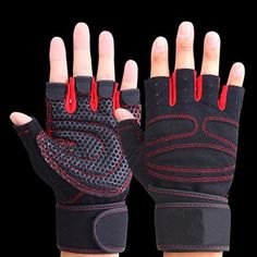 Body Building Fitness Glove breathable Wrist Gloves