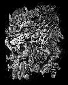 mictecacíhuatl tattoo - Buscar con Google