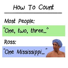 How to count...