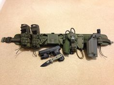 My HSGI Battle Belt with HK P30