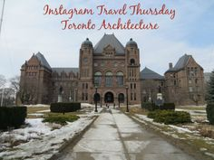 Toronto Architecture on Instagram via Gone with the Family