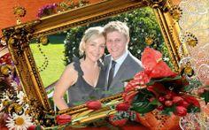 instal wedding frames
