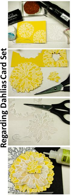 Regarding Dahlias Stamp Set from Stampin' Up!