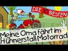 Meine Oma fährt im Hühnerstall Motorrad - Kinderlieder Klassiker zum Mitsingen || Kinderlieder - YouTube
