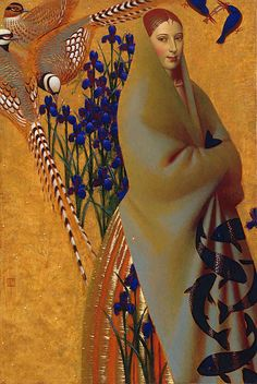 Remnev, Andrey (1962- ) - 2009 Camouflage (Private Collection)    Oil on canvas