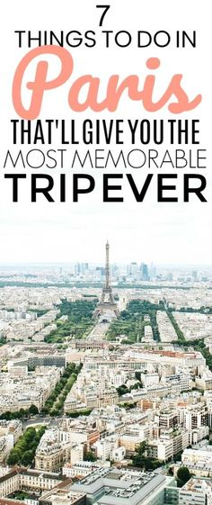 I can't miss these things to do in Paris! They all look so wonderful! You need to check out these ideas on tips for Paris travel. #Paristravel #Thingstodoinparis #Paristhingstodoin