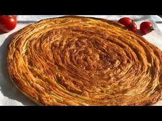 Sivas yöresinden YAĞLI ÇÖREK tarifi / Katmer tadında çok lezzetli / Ev Lezzetleri - YouTube