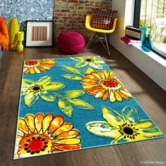 You'll love the Blue/Orange Area Rug at Wayfair - Great Deals on all Décor products with Free Shipping on most stuff, even the big stuff.