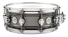 "We took a rolled 1mm, bead-reinforced, all-brass shell and decked it out with everything the Design Series™ has to offer. There's little doubt that this snare drum will more than get the job done in any musical situation. This studio-quality snare is high-end in every way, except for its modest price tag. Available in 5.5x14"" and 6.5x14"" sizes with MAG Throw-Off™, True-Pitch TuningT™, and a DW Reverse Dot batter head by Remo.  Availability: 5.5x14"", 6.5x14""  #dwdrums #dwdads #fathersday"