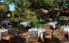 Hermosa Inn, Paradise Valley, Arizona - inside & outside meeting spaces