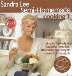 Sandra Lee Semi-Homemade Cooking 3 Cookbook Book 0696238144