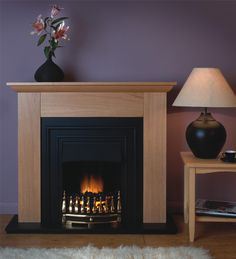It's so easy to fit these electric fire suites, simply place against the wall & plug in. Modern Electric Fires, Electric Fire Suites, Electric Fireplace Suites, Wall, Home Decor, Homemade Home Decor, Interior Design, Home Interiors, Decoration Home