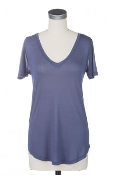 Type 2 Like Buddah Top in Blue - $22.97