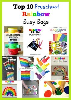top 10 preschool rainbow busy bags