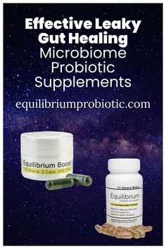 The most effective leaky gut healing microbiome probiotic supplements. Heal leaky gut syndrome and other intestinal issues with effective microbiome vegetarian multi-strain probiotic supplements with prebiotics that promote complete digestion. Get rid of gas, bloating, and constipation while boosting your energy. Use code TAKE20DG for 20% off from Equilibium Probiotic. #probiotics #leakygut #probioticsupplements #dietarysupplements Probiotic Brands, Probiotic Supplements, Getting Rid Of Gas, Leaky Gut Syndrome, Higher Dose, Gut Bacteria, Vegetarian, Healing, Shop