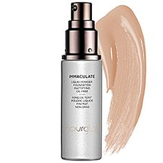 Hourglass Immaculate Liquid Powder Foundation Mattifying Oil Free in Tan - medium deep with pink undertones #sephora