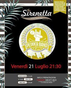 Pepper Band Live⠀ Sirenetta Luxury Beach Club - Silvi | Eventi Teramo⠀ #eventiteramo #eventabruzzo #amazing #art #awesome #baby #beach…