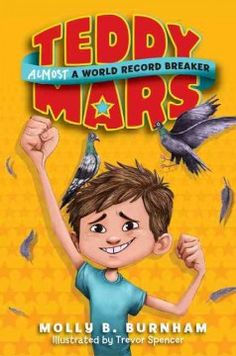 Fans of Jeff Kinney's humor and Sharon Creech's heartfelt stories will love this hilarious new series about a ten-year-old boy from a big family who dreams of making it into The Guinness Book of World Records.  Teddy Mars is determined to stand out in a world full of wonders and a house bursting with siblings. With the help of his best friends, Teddy tries to build the biggest snow mound, stuff the most grapes in his mouth, and lift a chair with his teeth. He'll do anything to succeed....