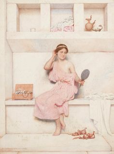 """An Olympian dreamer"" - George Lawrence Bulleid (british, 1858 - 1933) - by hauk sven, via Flickr"