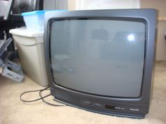 "19"" Black Philco TV in Dawn's Garage Sale in Virginia Beach , VA for $30.00. Good condition, works great."