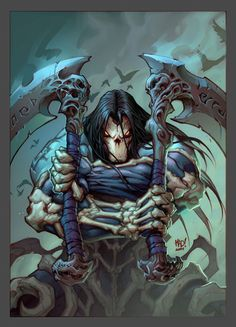 Darksiders II Concept Art by Avery Coleman