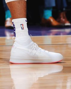 "79fdc305afa7 Bleacher Report Kicks on Instagram  "" MB3FIVE wearing the Puma Clyde Court  Disrupt tonight against Memphis. Very clean."""
