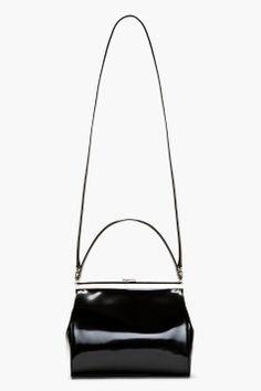 SImone Rocha Black Vinyl Handbag