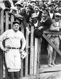 Babe Ruth and Fans, Spring Training 1925