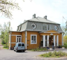 Cities In Finland, Cottage Exterior, Cabin Interiors, Urban City, Architecture, Facade, Gazebo, Shed, Villa