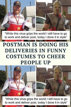 Occasional cyclist, dad-of-two, and an all-around awesome guy Jon Matson has found a brilliant way to cheer himself and other people up during the coronavirus quarantine lockdown. The 39-year-old postman from West Boldon, United Kingdom, ditched his uniform for flamboyant character costumes, making his deliveries the most anticipated event of the day for everyone on his route.