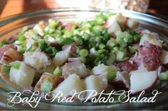 Baby Red Potato Salad on Carrie Bradshaw Lied