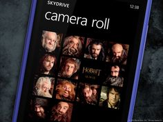 With SkyDrive on your #WindowsPhone, all of your photos go wherever you go, even to Middle-earth. #TheHobbit
