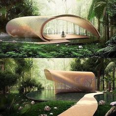 40 fantastic modern home design ideas A cabin is by definition a small wooden shelter in a remote location and the image that most of us have in mind when thinking of this one . HOME DESIGN Modern Residential Architecture, Pavilion Architecture, Minimalist Architecture, Green Architecture, Architecture Portfolio, Futuristic Architecture, Sustainable Architecture, Beautiful Architecture, Landscape Architecture